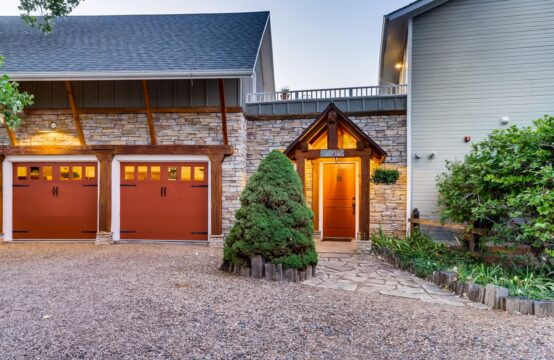 Modern Embraces Rustic in this Fully Custom Home and Cottage // Close to Boulder, but situated on 1.68 bucolic acres